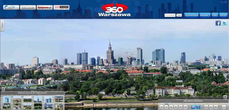 Gigapanorama Warszawy
